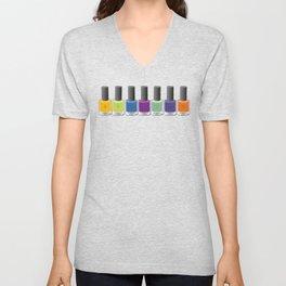 Colour happy Unisex V-Neck