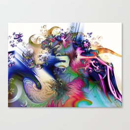 Sculpting the Abstract Canvas Print