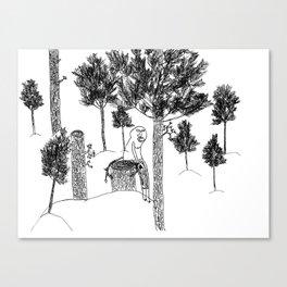 Skog Canvas Print