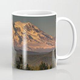 Sunset at Rainier Coffee Mug