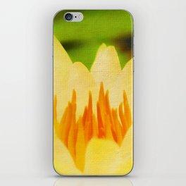Nelumbo Lutea II iPhone Skin