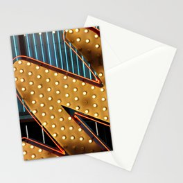 Vegas Neon Stationery Cards