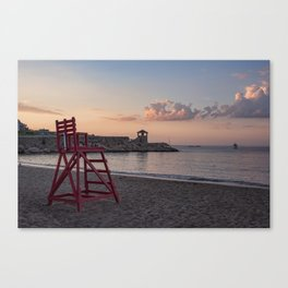 Front Beach After Hours Canvas Print