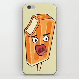 Orange Scream! iPhone Skin