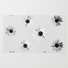 Shadow Box Flowers Rug