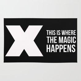 Where The Magic Happens Rug