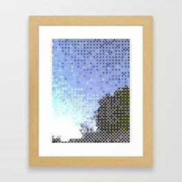 Joy in Repetition Framed Art Print