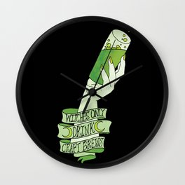 Witches Brew Wall Clock