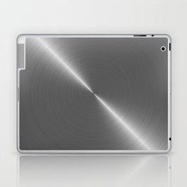 Bright Polished Titanium Metal Laptop & iPad Skin