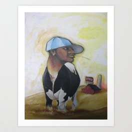MC Bovine Art Print
