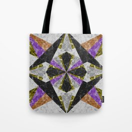 Marble Geometric Background G441 Tote Bag