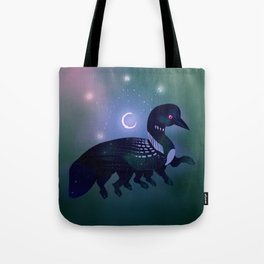 Loon Witch Tote Bag
