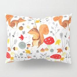 Pattern #64 - Woodland squirrels Pillow Sham