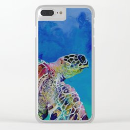 Honu 7 Clear iPhone Case