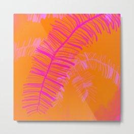 Tropical Palm Dream Metal Print