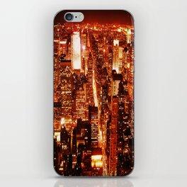 New York : Manhattan iPhone Skin