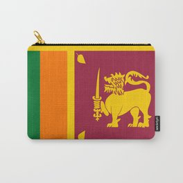 Flag of sri Lanka -ceylon,India, Asia,Sinhalese, Tamil,Pali,Buddhist,hindouist,Colombo,Moratuwa,tea Carry-All Pouch