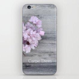 Pretty Prune Blossoms iPhone Skin