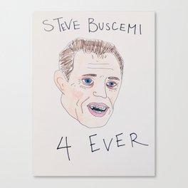 Steve Buscemi With Braces Canvas Print