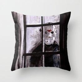 Jason Lives Throw Pillow