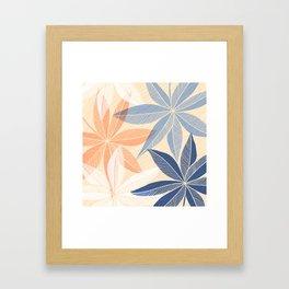 Modern Hawaiian Print II Framed Art Print