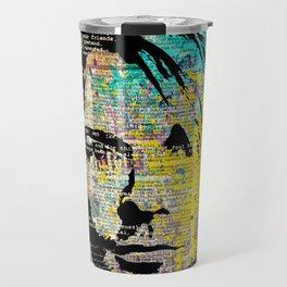 Nirvana art on dictionary Travel Mug