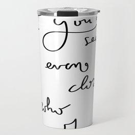 Myself Travel Mug