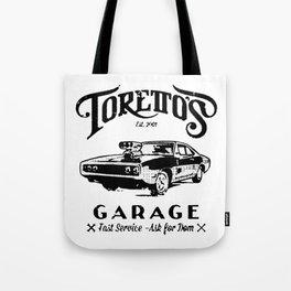 Toretto Garge Dom Tote Bag