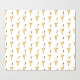 Soft Serve Ice Cream Canvas Print
