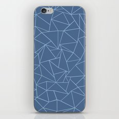 Ab Outline Blues iPhone & iPod Skin