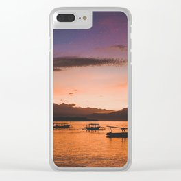 Indonesian Sunrise Clear iPhone Case