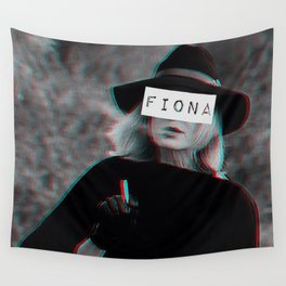 Fiona Goode & the Cig Wall Tapestry