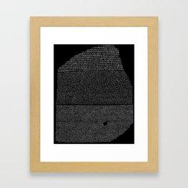 Pierre de Rosette  / Rosetta Stone Framed Art Print
