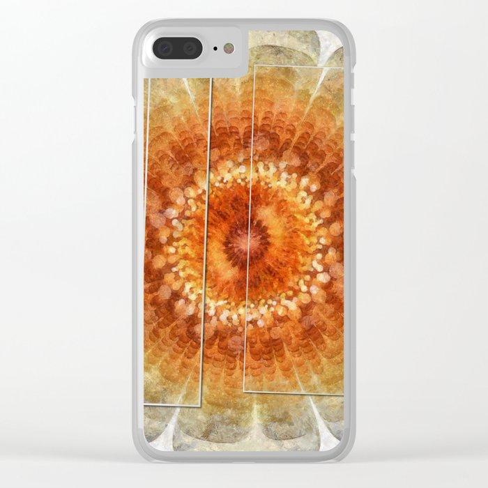 Callipygian Dream Flowers  ID:16165-044441-61801 Clear iPhone Case