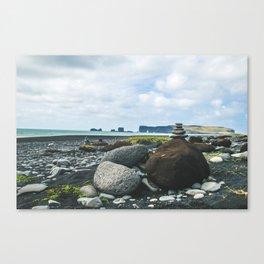 Coastal Stacks Canvas Print