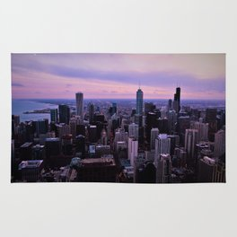 Chicago Sunsets Rug