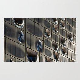Metallic reflection Rug
