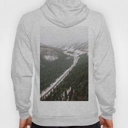 Snowy Mountain Road Hoody