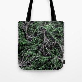Green Magical Wisps Tote Bag