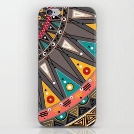 Ethnic tribal ornament iPhone Skin