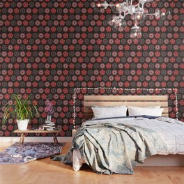 MCM Flower Power Wallpaper