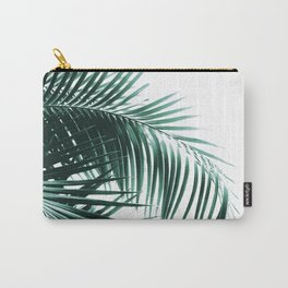 Palm Leaves Green Vibes #8 #tropical #decor #art #society6 Carry-All Pouch