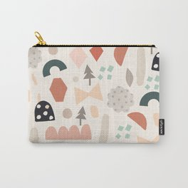 Fun Shapes Forest Carry-All Pouch