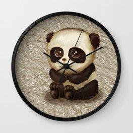 Cute Panda Wall Clock
