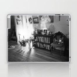 """""""Ziggy Star-Dog"""" by Lindsay Wiggins Laptop & iPad Skin"""