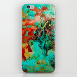 Natural Camouflage Rabbit iPhone Skin