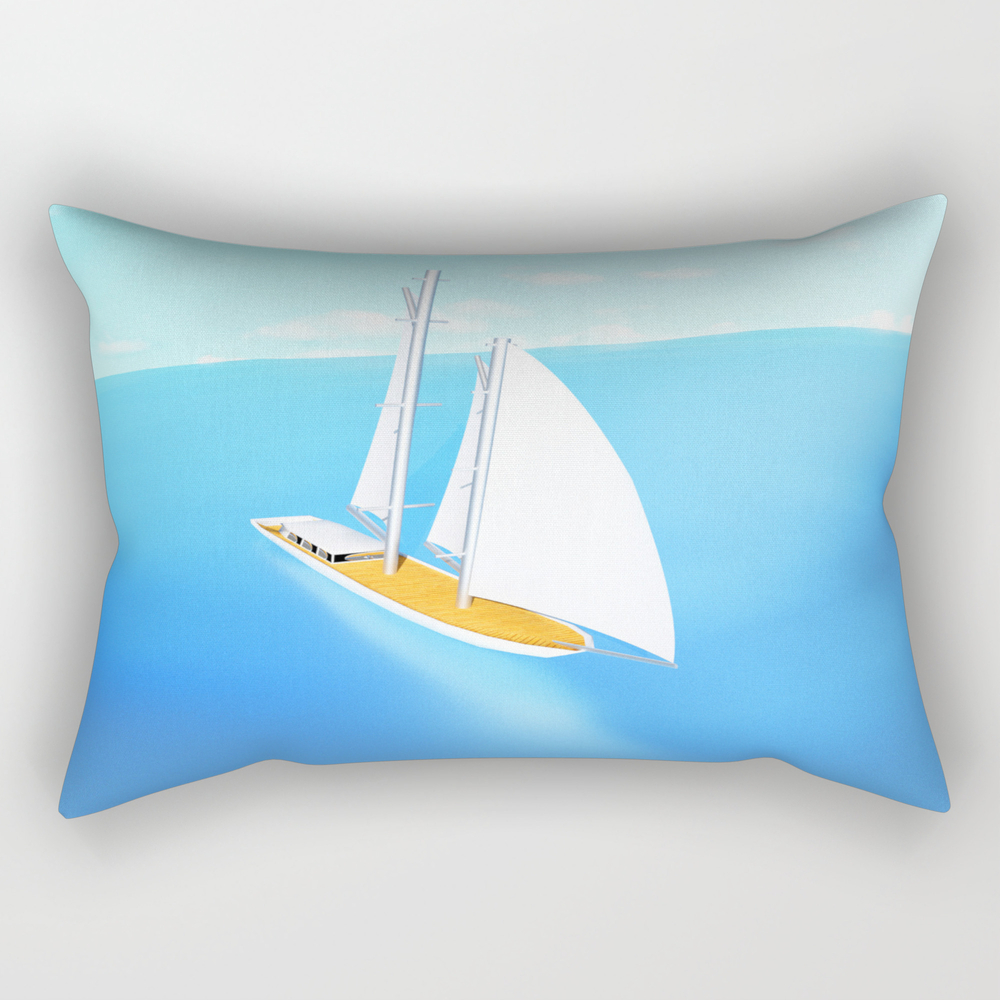 Summer Trip Couch Throw Pillow RPW9098870
