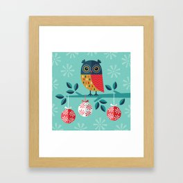 WOOHOO IT'S CHRISTMAS! Framed Art Print