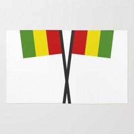 guinea flag Rug