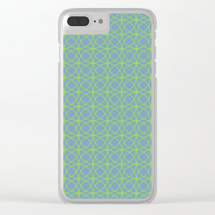 o x o - just circumferences - bg Clear iPhone Case